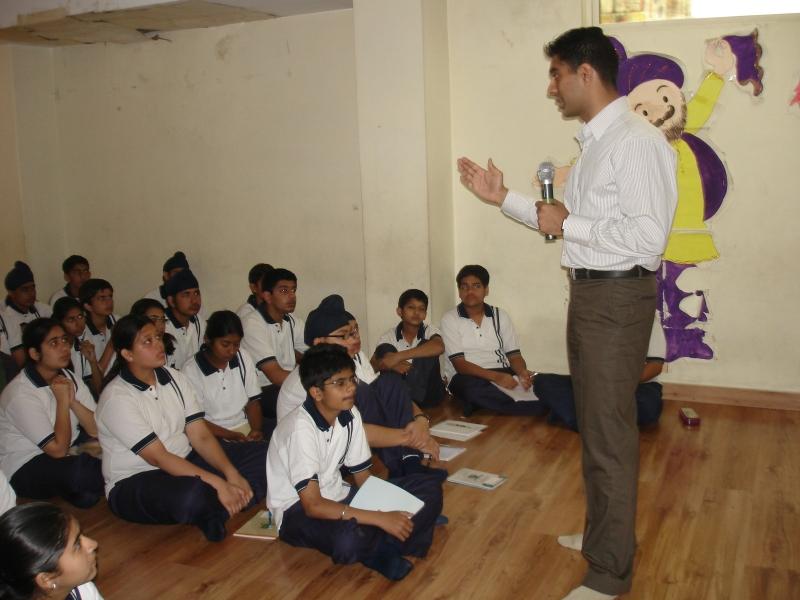 Youth Empowerment Program by Simerjeet Singh