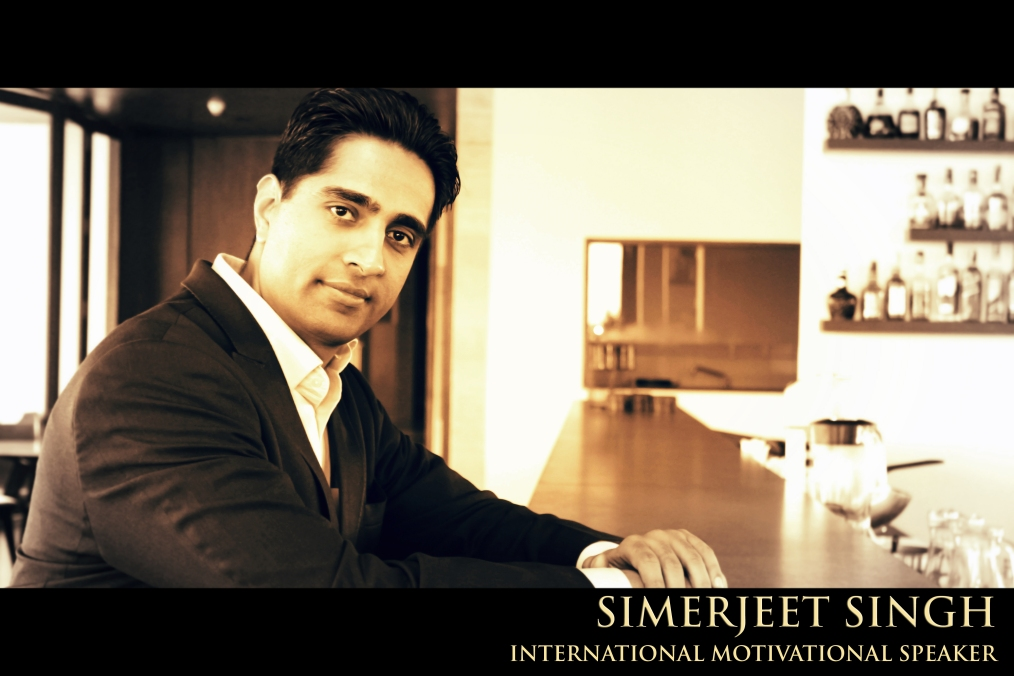 Simerjeet - Motivational Speaker India