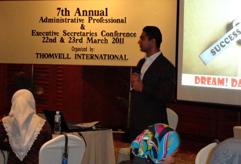 Keynote Speaker Simerjeet Singh in Kuala Lumpur, Malaysia.