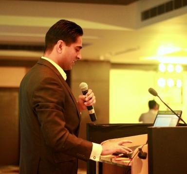 Keynote Speaker Simerjeet in Hyderabad