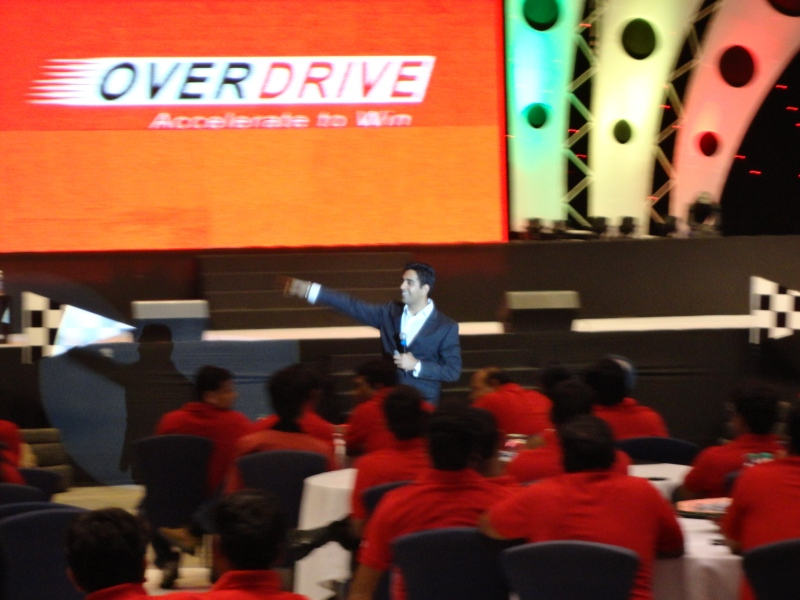 Motivational Talk for Vodafone Hyderabad